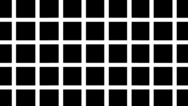 Hermann grid illusion