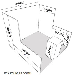 Linear Booth