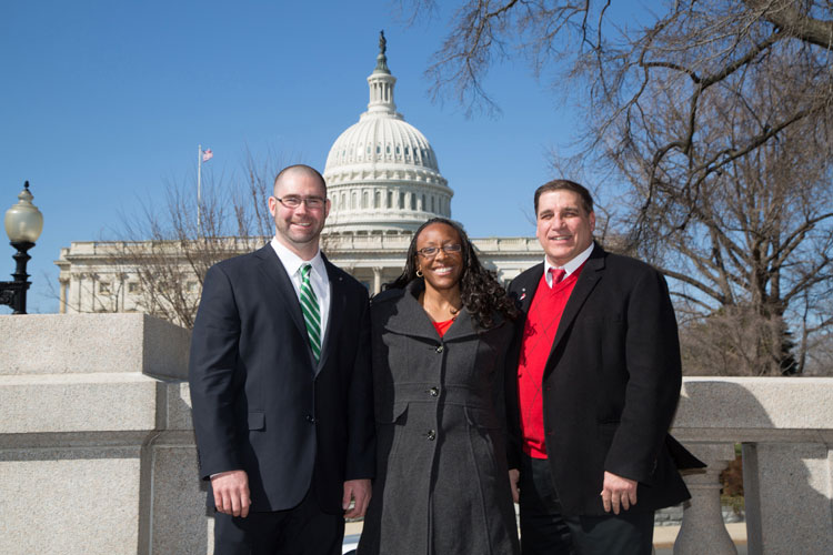 Members at Capitol Hill Day 2014