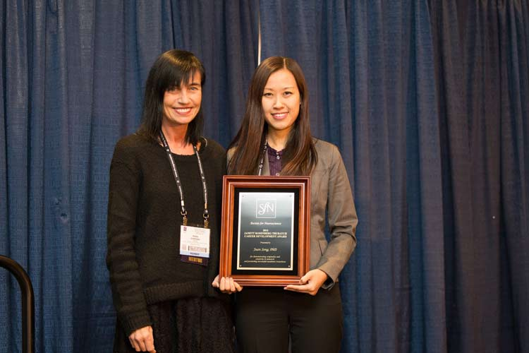 2014 Janett Rosenberg Trubatch Career Development Award recipient Juan Song, PhD.