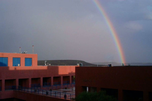 Rainbow at UNAM campus