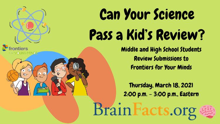 Brain Awareness Week webinar