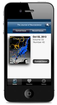 JNeurosci App Screen