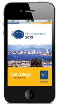 Neuroscience 2013 App Screen