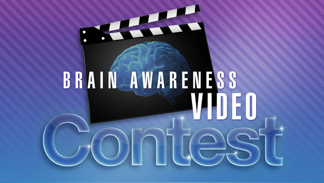 Brain Awareness Video Contest Logo