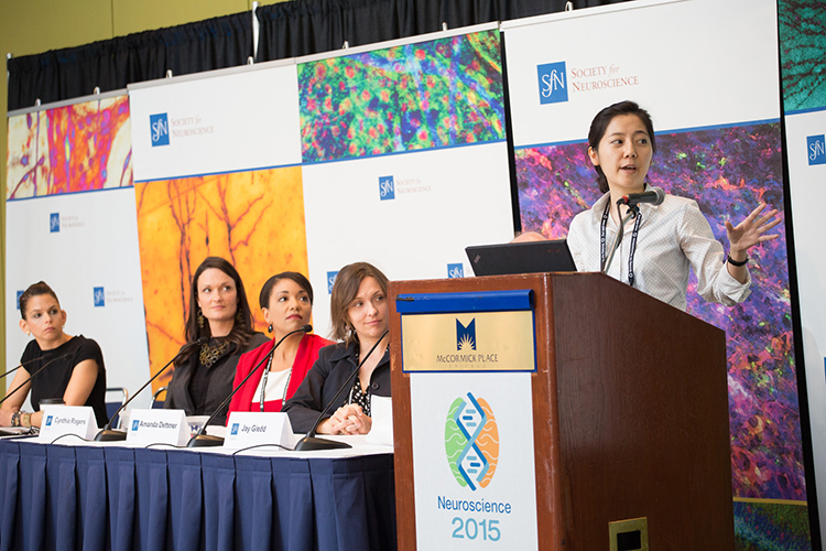 Press Conference at Neuroscience 2015