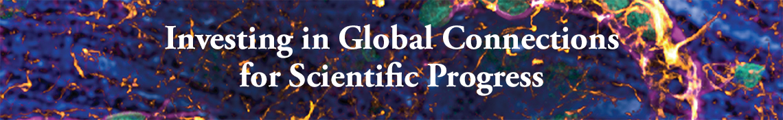 """Investigating in Global Connections for Scientific Progress"""
