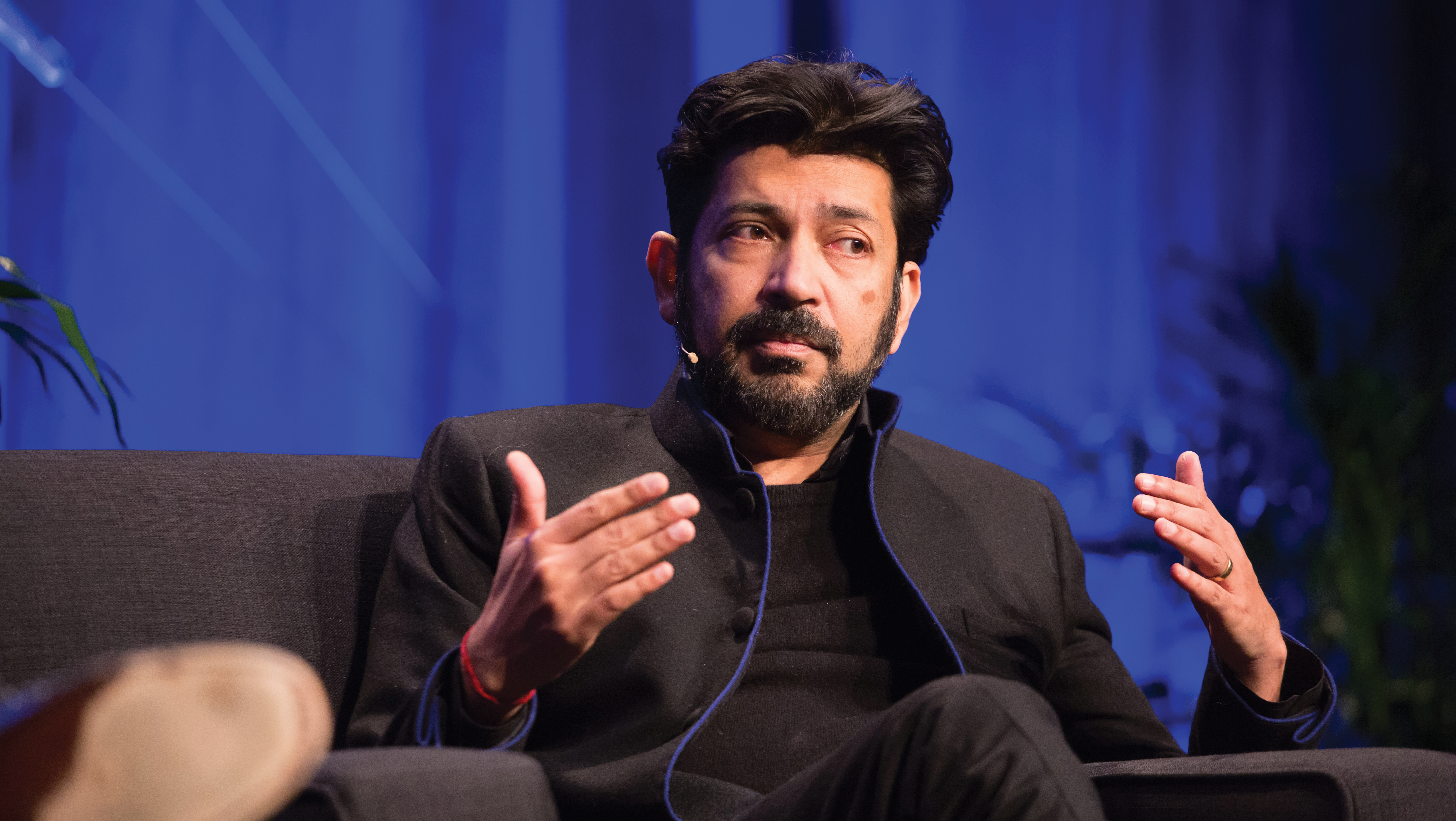 Siddharta Mukherjee, oncologist and Pulitzer Prize-winning author