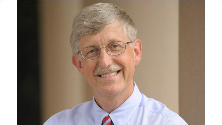 Headshot of former NIH Director Francis Collins