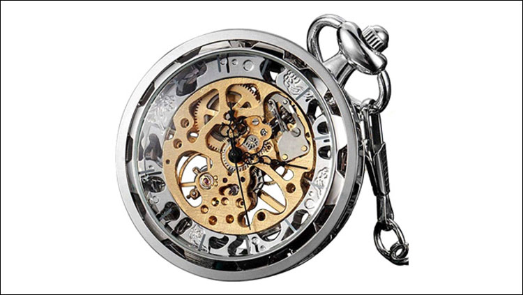 Mechanical watch. Even knowing what it does, its inner workings are far from trivial. Imagine an archeologist finding one of those and not knowing what this is for.