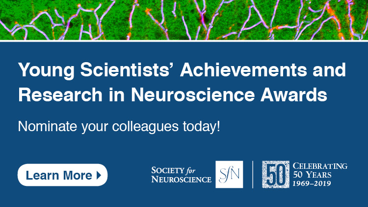 Young Scientists' Achievement and Research award nomination advertisement