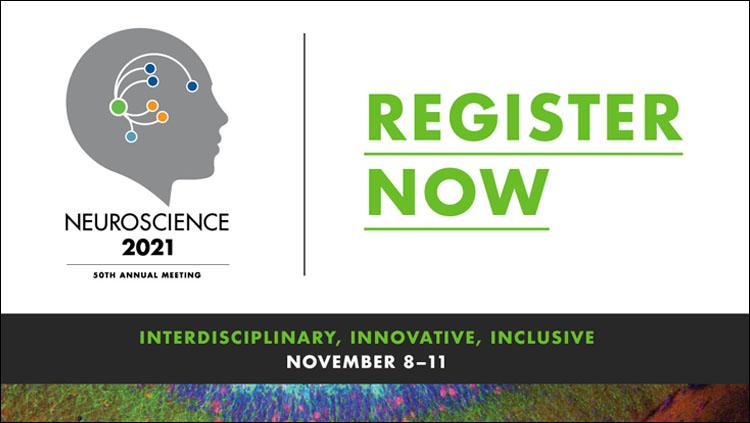 Neuroscience 2021 50th Annual Meeting logo