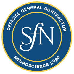 Neuroscience 2020 Official General Contractor Badge