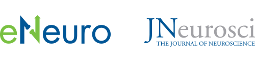eNeuro and JNeurosci logos