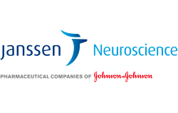 "Janssen Neuroscience logo ""Pharmaceutical Companies of Johnson and Johnson"""