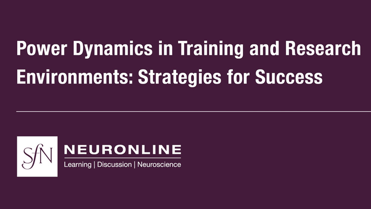 Virtual Conference on Power Dynamics in Training and Research Environments
