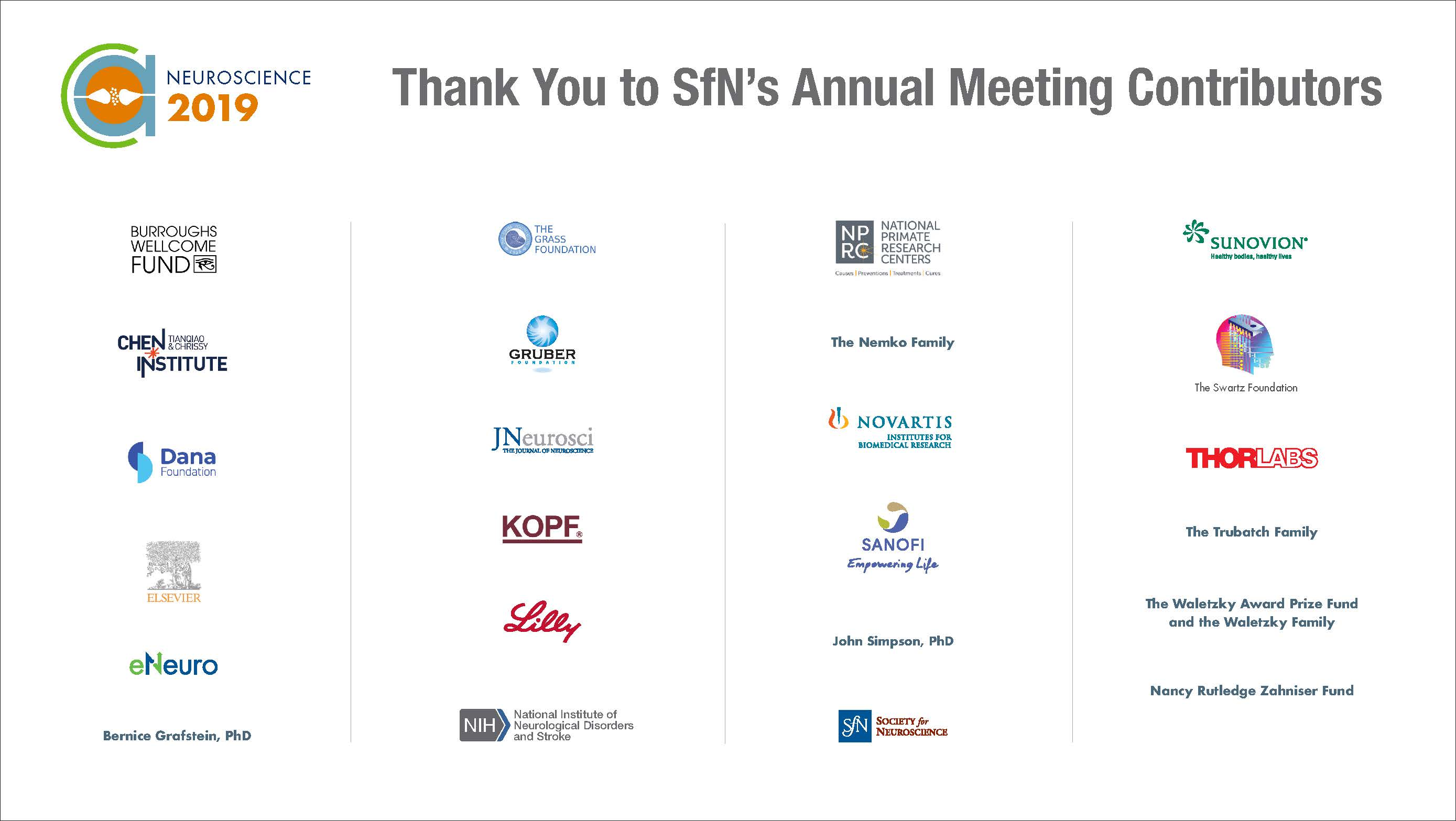 2019 Annual Meeting contributors graphic