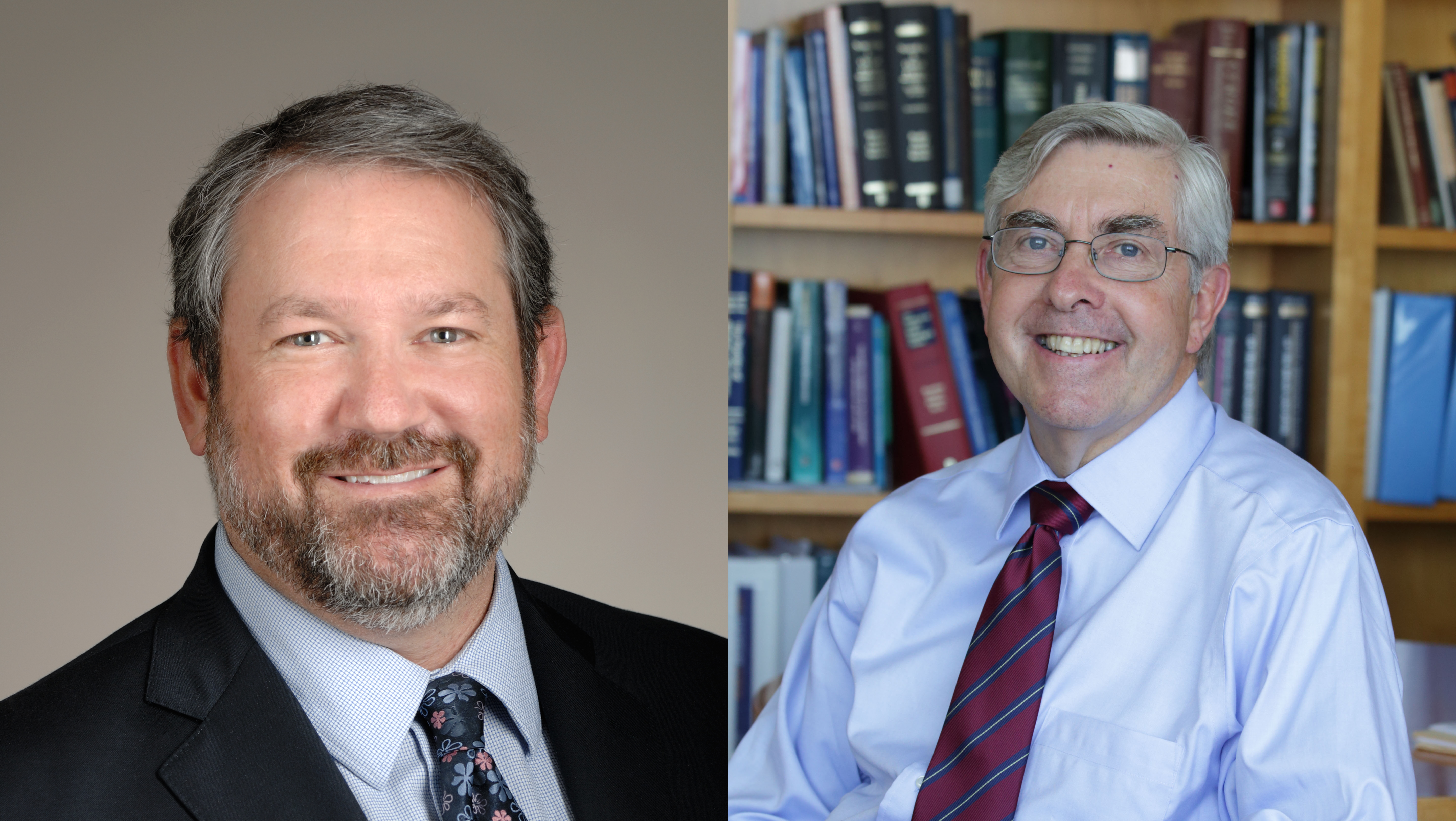 Joshua Gordon, MD, PhD, (left) and Walter J. Koroshetz, MD (right)