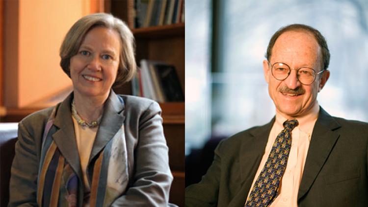 Shirley Tilghman and Harold E. Varmus