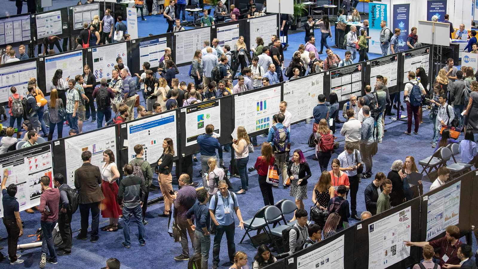 The poster floor at Neuroscience 2018