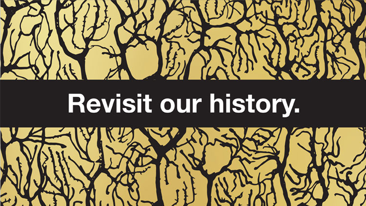 """Revisit our history"" on gold neuroscience imagery"