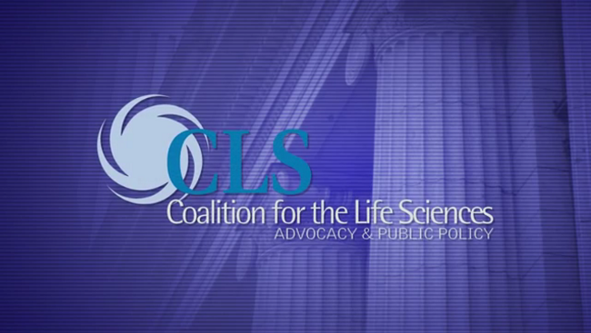 Coalition for Life Sciences logo.